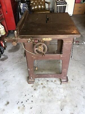 """J D Wallace & Co. """"Universal Saw"""" Table Saw"""