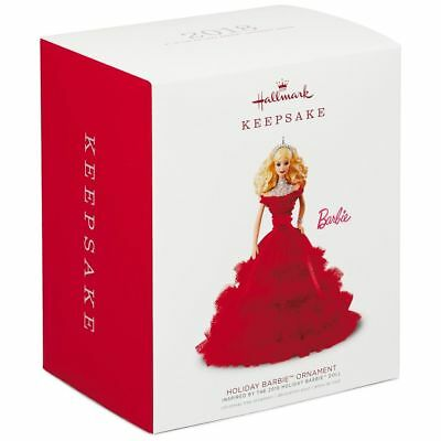 Hallmark Keepsake 2018 Holiday Barbie™ Doll Ornament