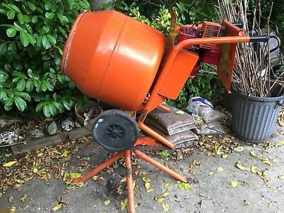 Cement Mixer (used) - Belle Minimix 140 , petrol engine