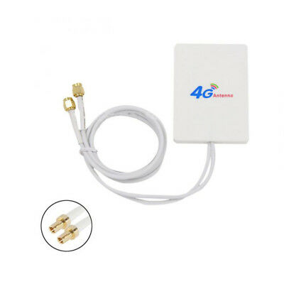 LTE Double TS9 Antenna Booster Amplifier Signal 28dBi for 4G 3G Mobile Router FR
