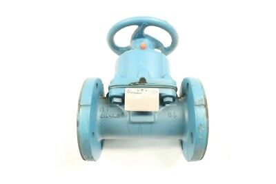 Itt 2-2833-ST-902 Dia-flo Diaphragm Valve 2in Manual Flanged Iron