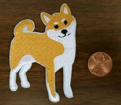 Shiba Inu Embroidered Patch Iron On Or Sew