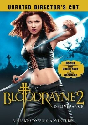 BLOODRAYNE 2 DELIVERANCE New Sealed DVD Unrated Director's Cut