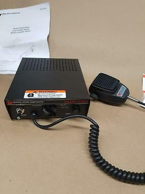 *NEW* Federal Signal Corporation PA300 Series Electronic Siren w/ microphone
