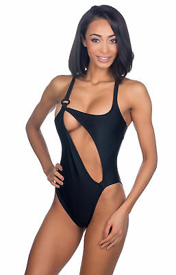 2616387d97 ROSA CHA SEXY Cut Open Brazilian Cut One-Peice Monokini Swimsuit ...