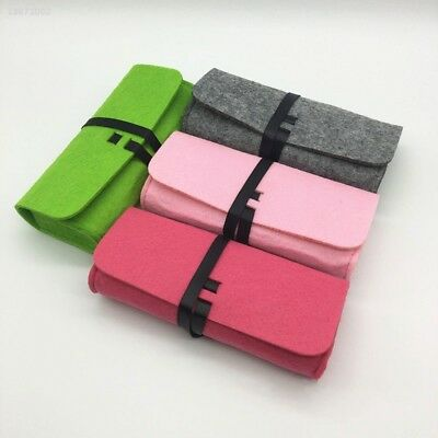 Chemical Fiber Felt Glasses Eyeglass Bag Sunglass Case Pouch Four Colors 70B6