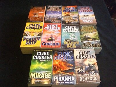 Complete First 11 OREGON FILES by Clive Cussler Golden Buddha  Emperor's Revenge