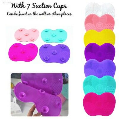 0E1E568 Silicone Makeup Brush Cleaning Pad Brush Cleaner Cleaning Cosmetics E1A9