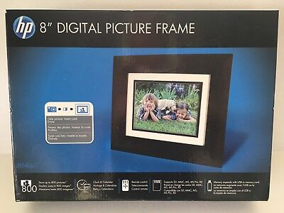 Hp 7 Inch Digital Picture Photo Frame Df730v1 2699 Picclick