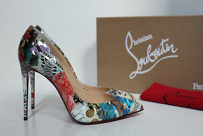 27642551ede 8.5 / 39 Christian Louboutin Pigalle Follies Trash-print Pointed toe Pump  Shoes