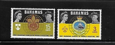 Bahamas 1967 60th anniversary of world scouting Lord Baden-Powell MNH A378
