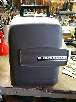 Vintage WORKING Bell & Howell Autoload Super 8 Film Movie Projector - Model 346A