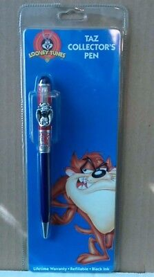 Looney Tunes Taz Collector's Black Ink Pen - Stylus Co. - SEALED