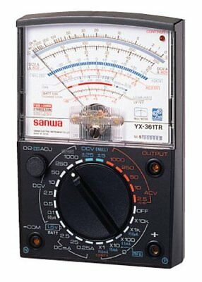 New Sanwa Analog Multimeter Full featured YX 61TR Free Shipping wit From japan