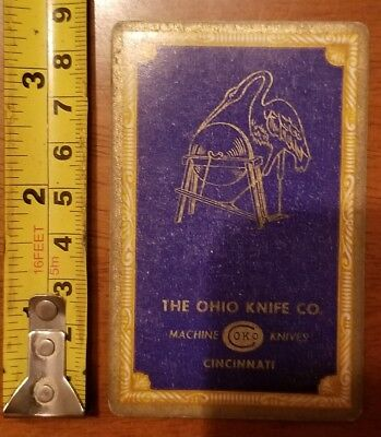 Rare Old Company Playing Card Single Ohio Knife Okco 606 Congress 2 Diamonds