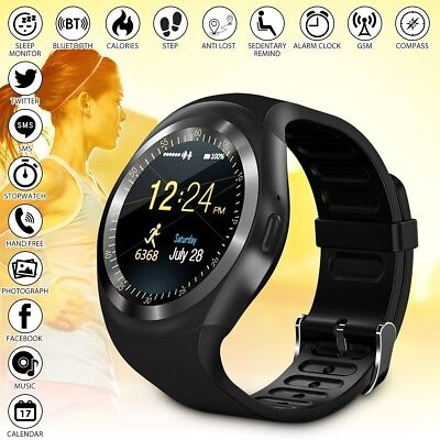 Smartwatch Band Reloj Inteligente Bluetooth Impermeable Mate Para Android/IOS Y1