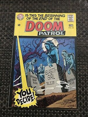 Doom Patrol (1st Series) #121 1968