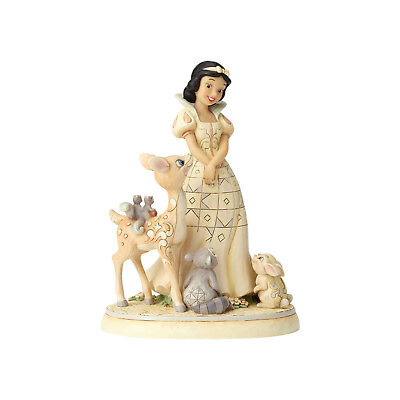 Jim Shore Disney White Wonderland Snow White New 2018 6000943