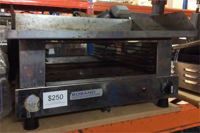Roband Commercial Griddle Hotplate and Toaster, HP605B