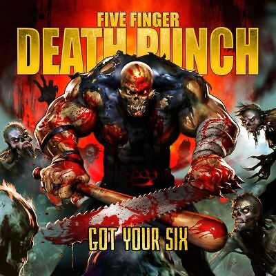 FIVE FINGER DEATH PUNCH - GOT YOUR SIX Deluxe Edition CD w/BONUS Trax *NEW*