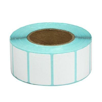 1100Pieces 30x20mm Blank White Thermal Labels Rolls Self Adhensive Sticker