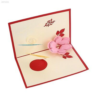 3D Pop Up Hollow Cards Lover Valentine's Day Christmas Greeting Gift Cards EC15