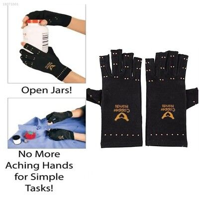 Soft Unisex Women Magnetic Arthritis Finger Gloves Therapeutic Compression 0712