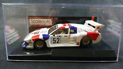Scaleauto  BMW M1 Le Mans 1982 Würth