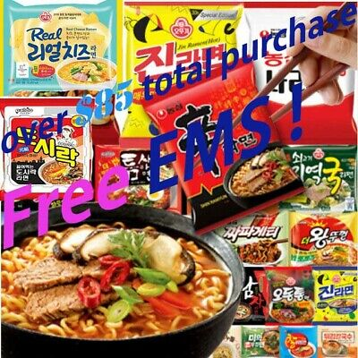 Korea Ramyun collection Instant Noodle Hot Spicy Flavor Ramen Products
