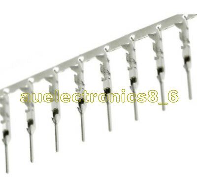 100Pcs Jumper Wire Cable Housing Dupont Male Pin Connector 2.54mm DIY