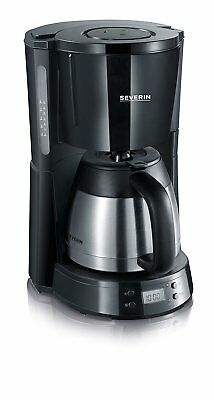 Severin KA4141 Severin Coffee Maker With Thermo Jug And Timer 1000W Black