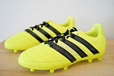 f3667803482c Adidas Ace 16.3 FG Firm Ground Kids Junior Football Boots Size Uk 4.5  Yellow UBQ
