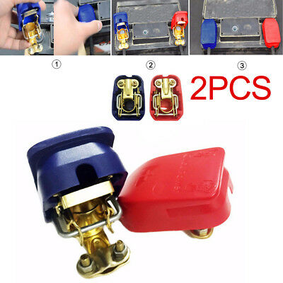2x Easy Installation Terminal Pile Head For Car Motor Battery Fast Connector TP