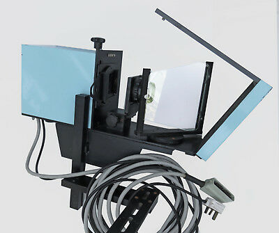 Broncolor Photographic front projection unit adapted to Elinchrom Flash powered