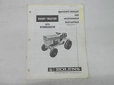wiring diagram bolens 1476 detailed wiring diagrams bolens 1476 hydrostatic husky tractor operators manual maintenance atlas wiring diagram bolens 1476 hydrostatic husky