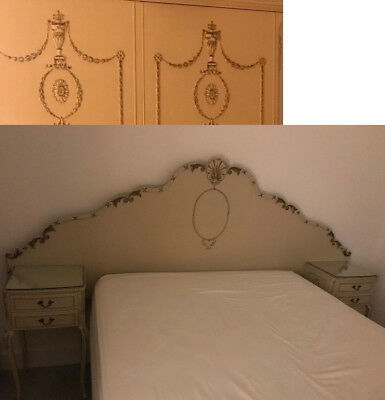 20th Century French Vintage Headboard