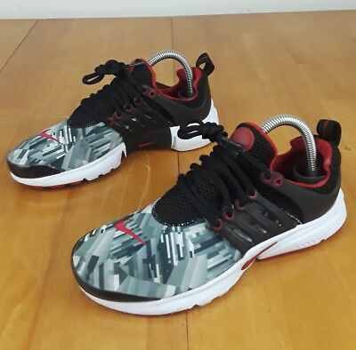 timeless design 44ec6 bb83f NIKE AIR PRESTO Youth Athletic Sneaker Gray Red Black Size 6Y (Women s Size  7.5) -  39.99   PicClick