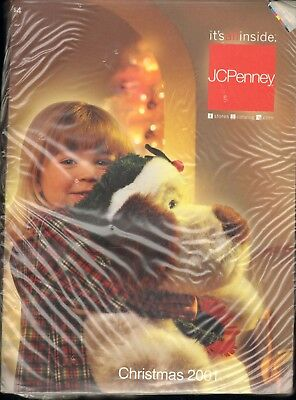 JCPenney Catalog Christmas 2001 unopened in plastic
