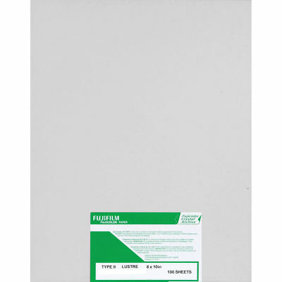 "Fujifilm Fujicolor Crystal Archive Type II Paper (8 x 10"", Lustre, 100 Sheets)"