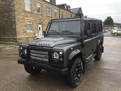 1992 Land Rover Defender County Station Wagon 92 LANDROVER DEFENDER 110 200TDi CSW TOTAL STRIP CHASSIS UP REBUILD CORRIS GREY