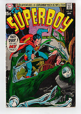 SUPERBOY  #164 (Neal Adams cover)