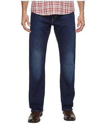2a919c89 Levis 517 Bootcut Jeans Mens Allman Blue Wash Mid-Rise Boot 2-Way Stretch