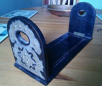Antique Book Slide with Brass Ends A/F