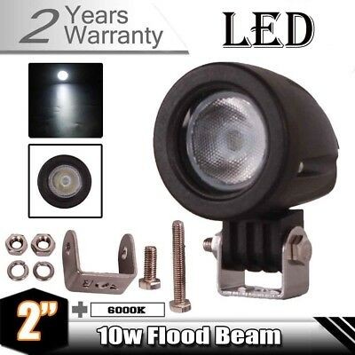 10W CREE LED Work Light Bar Flood Beam 4WD Off-road Driving Lamp ATV SUV Truck