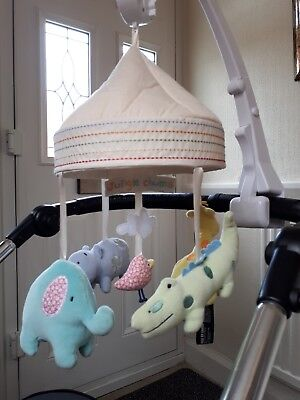 Bruin Jungle Chums Cot Mobile Foldable Easy Grip