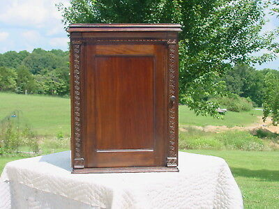 Antique Walnut Sewing Machine Cabinet