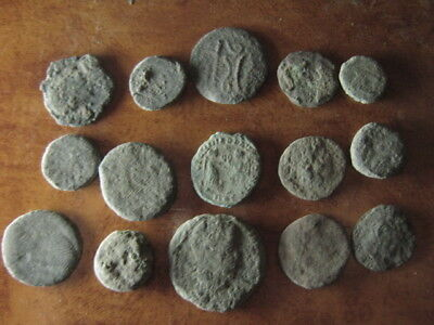 Ancient roman coins lot 19