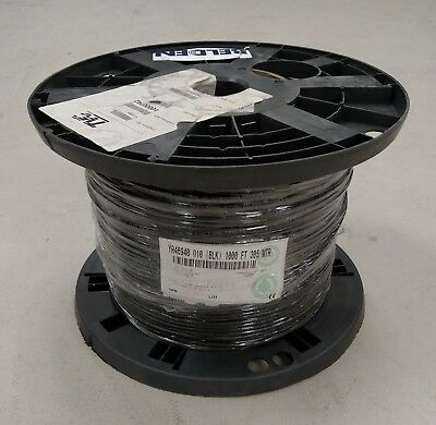 BELDEN Mini RG59 YR46940 Coaxial Cable Spool 1000ft Communications Cable BLACK