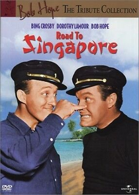ROAD TO SINGAPORE New Sealed DVD Bob Hope Tribute Collection Bing Crosby