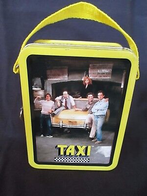 Taxi Mini Lunchbox by the Tin Box Company 1999 Yellow